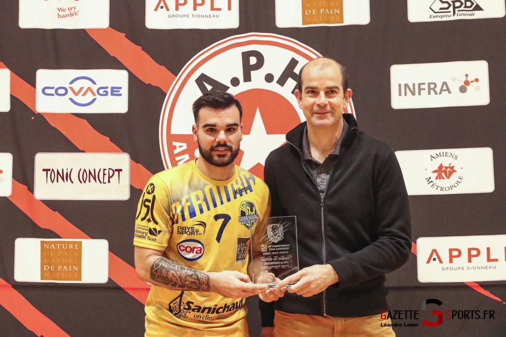 Handball Aph Vs Sarrebourg 0053 Leandre Leber Gazettesports