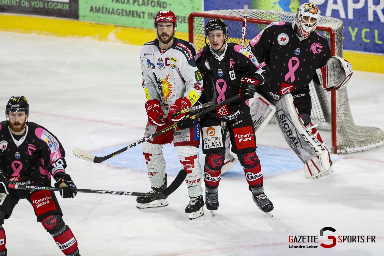 Hockey Sur Glace Les Gothiques Amiens Vs Grenoble Bruleurs De Loups 0020 Leandre Leber Gazettesports