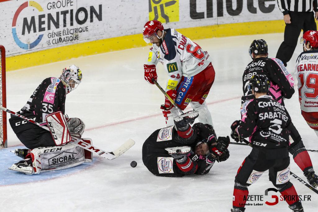 Hockey Sur Glace Les Gothiques Amiens Vs Grenoble Bruleurs De Loups 0042 Leandre Leber Gazettesports