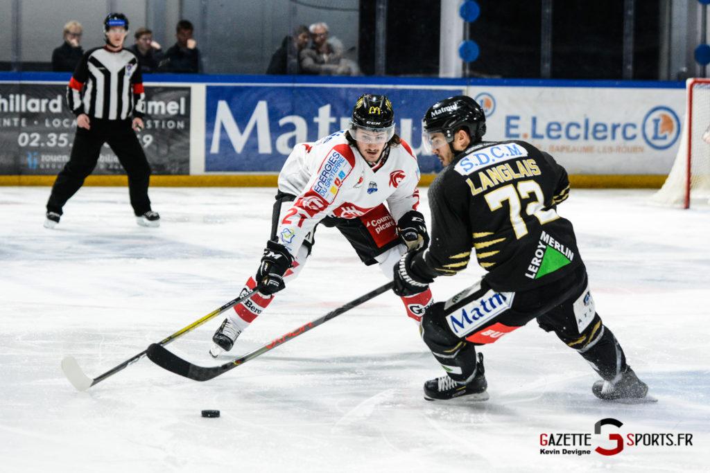 Hockeysurglace Rouen Vs Amiens Kevin Devigne Gazettesports 52
