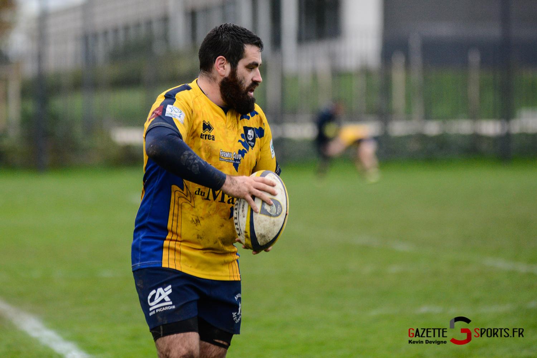 Rugby Amiens Vs Rouen Kevin Devigne Gazettesports 40