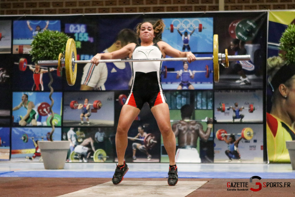 Halterophilie Championnat Scham Gazettesports Coralie Sombret 25