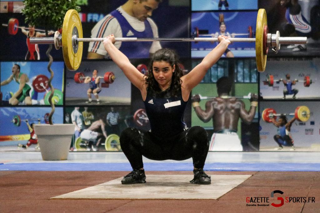Halterophilie Championnat Scham Gazettesports Coralie Sombret 28