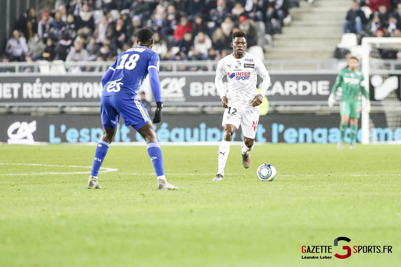 Amiens Sc Vs Strasbourg Ligue 1 0040 Leandre Leber Gazettesports