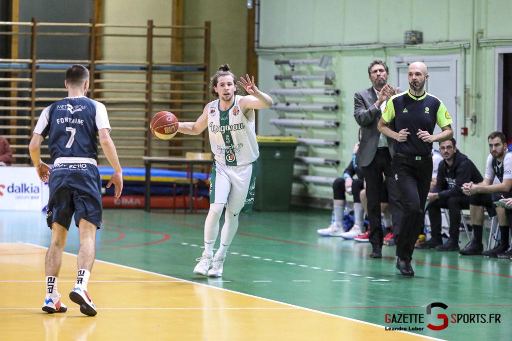 Esclams Longueau Basket Vs Rennes 0011 Leandre Leber Gazettesports