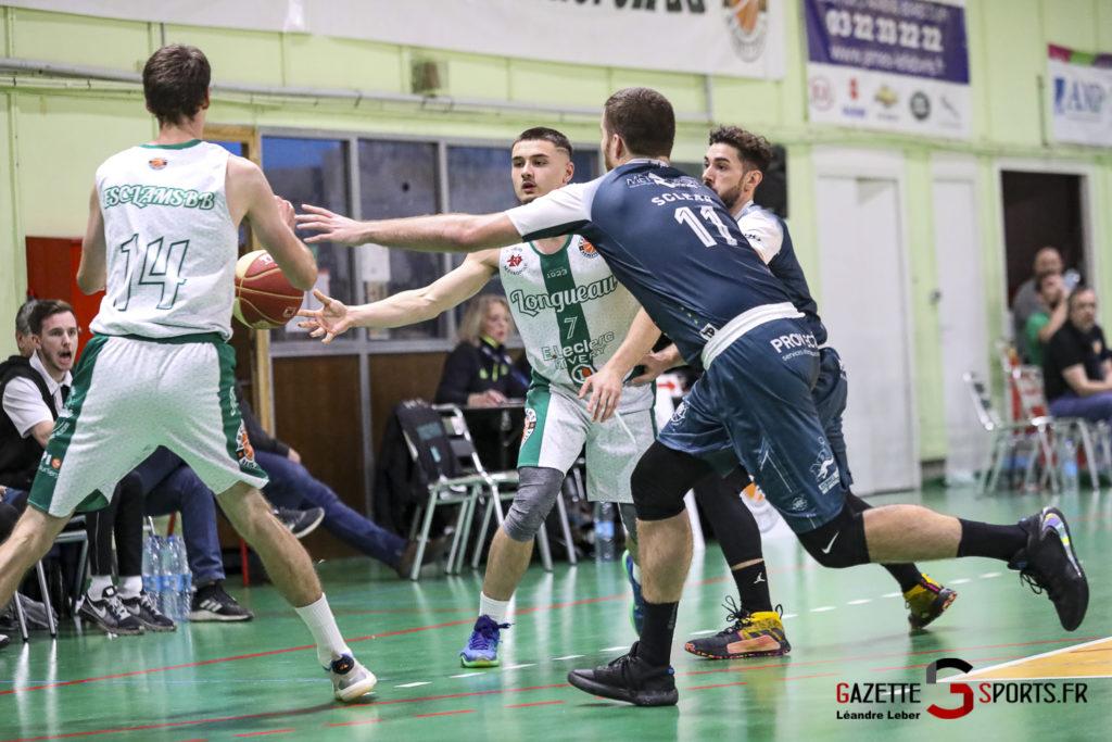 Esclams Longueau Basket Vs Rennes 0030 Leandre Leber Gazettesports