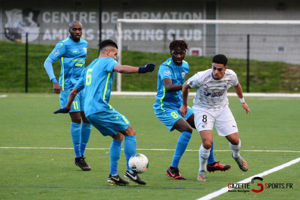 Football Amiens Sc B Vs Vimy Kevin Devigne 10