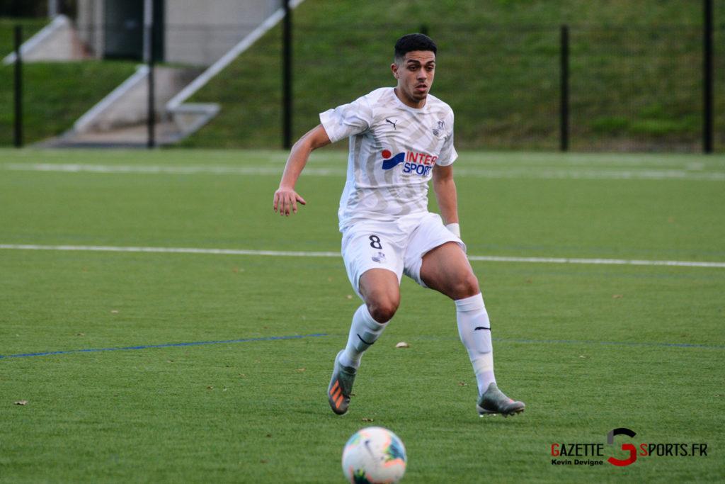 Football Amiens Sc B Vs Vimy Kevin Devigne 18