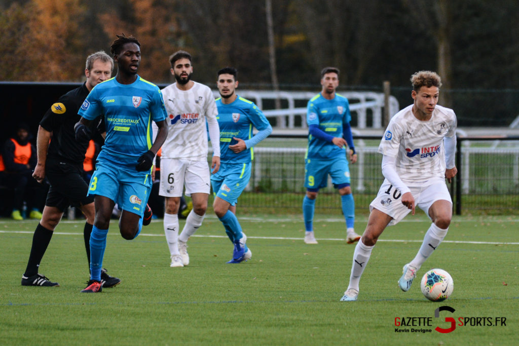Football Amiens Sc B Vs Vimy Kevin Devigne 22