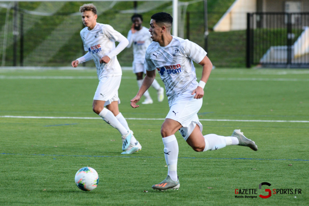 Football Amiens Sc B Vs Vimy Kevin Devigne 45