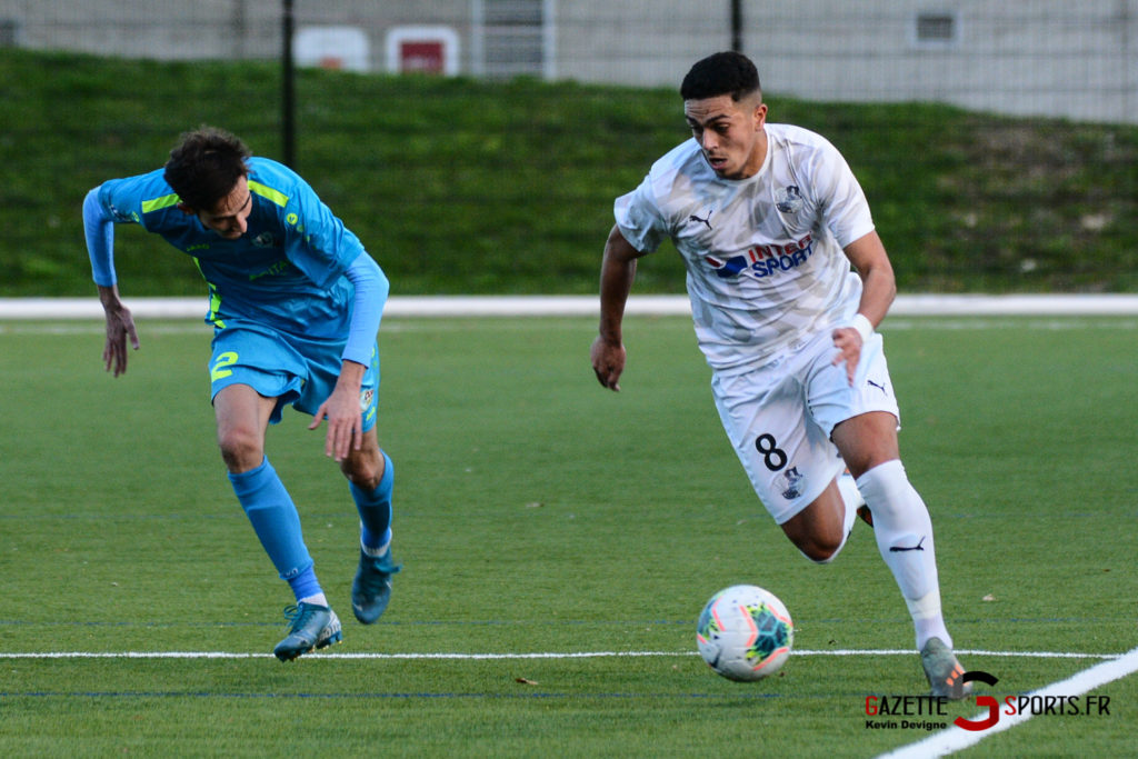 Football Amiens Sc B Vs Vimy Kevin Devigne 55