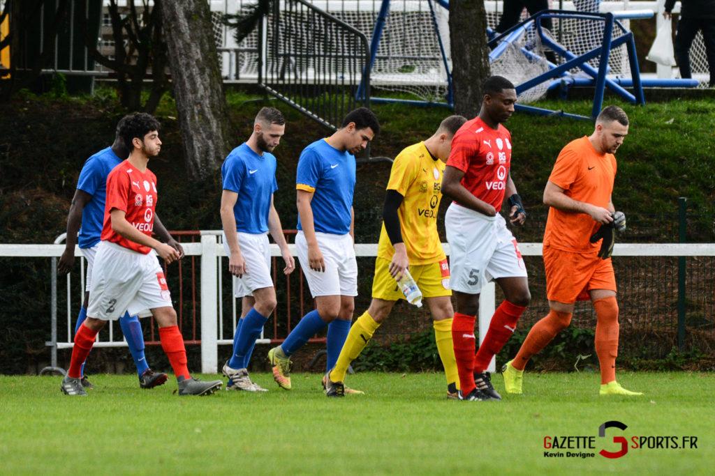 Football Montieres Vs Beauvais B Kevin Devigne