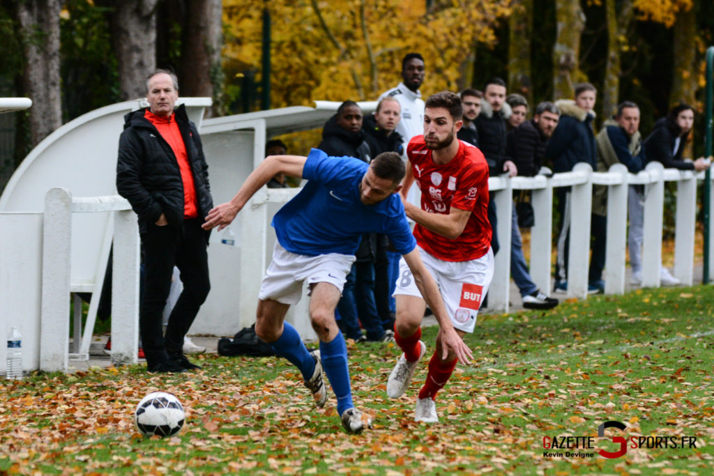 Football Montieres Vs Beauvais B Kevin Devigne 24
