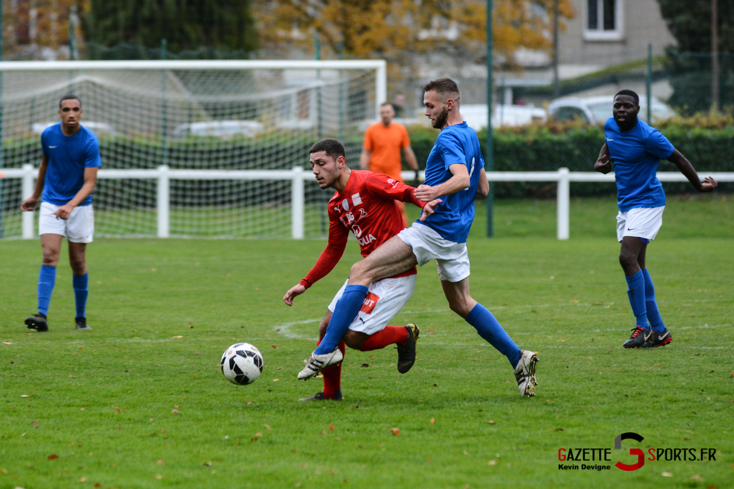 Football Montieres Vs Beauvais B Kevin Devigne 27