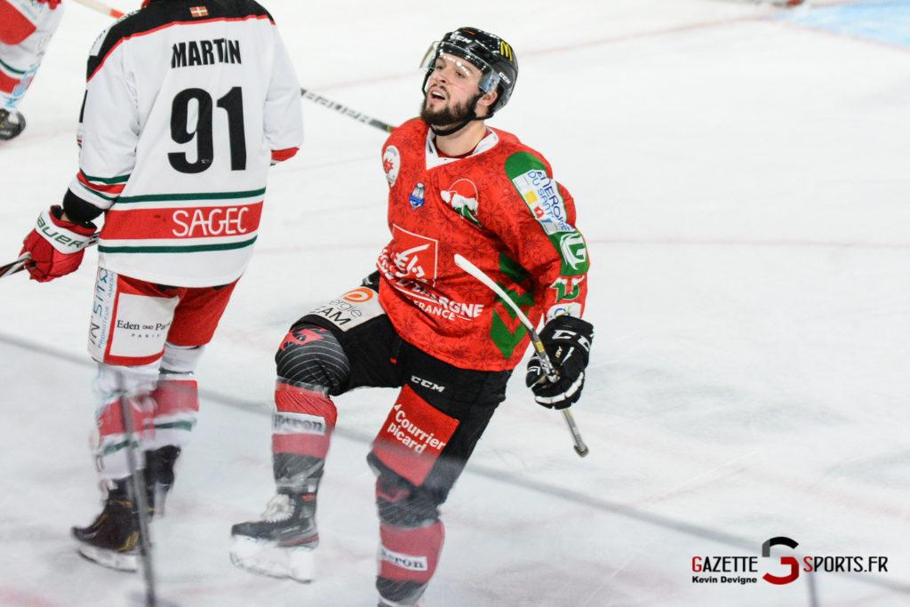 Hockey Sur Glace Gothiques Vs Anglet Kevin Devigne 100