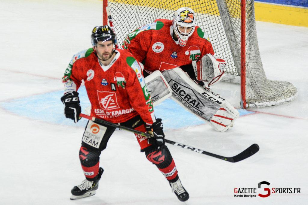 Hockey Sur Glace Gothiques Vs Anglet Kevin Devigne 102