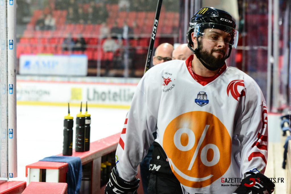 Hockey Sur Glace Gothiques Vs Anglet Kevin Devigne