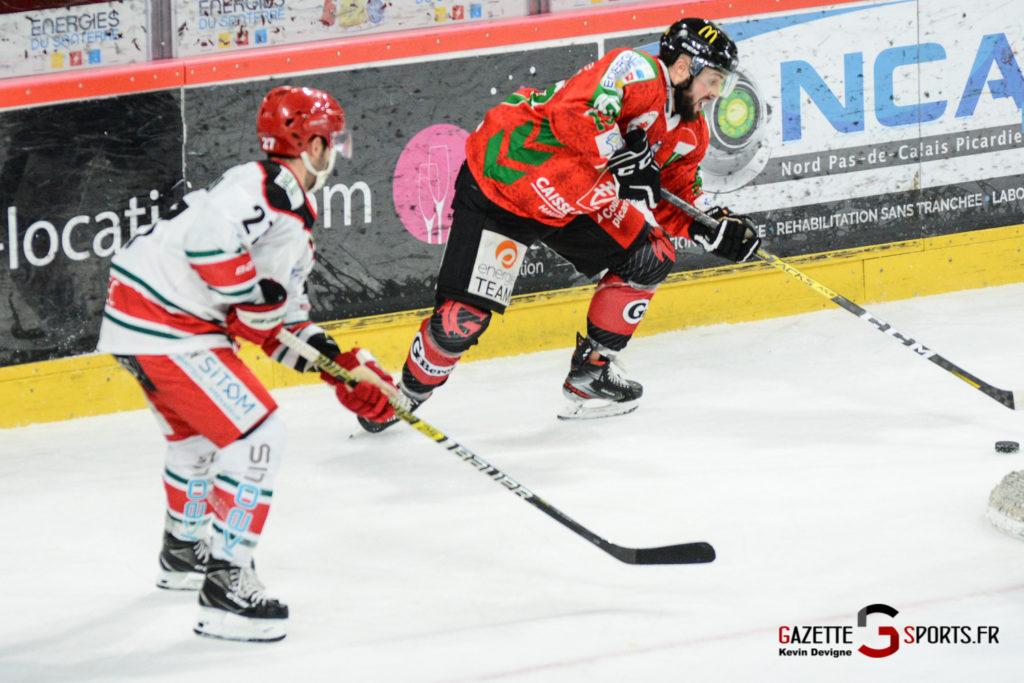Hockey Sur Glace Gothiques Vs Anglet Kevin Devigne 103