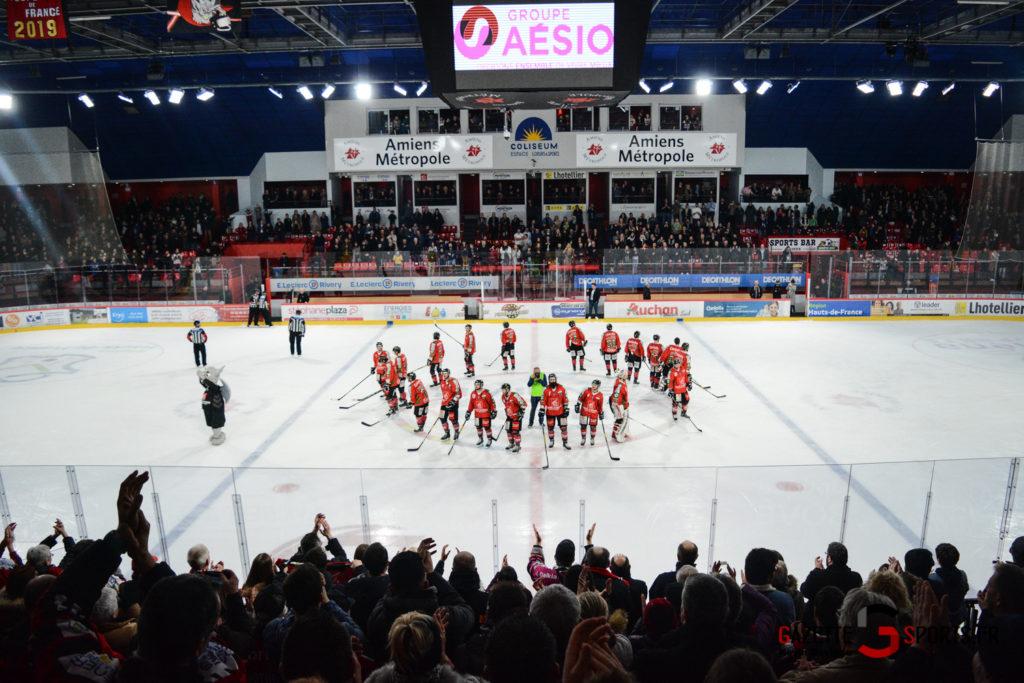 Hockey Sur Glace Gothiques Vs Anglet Kevin Devigne 104