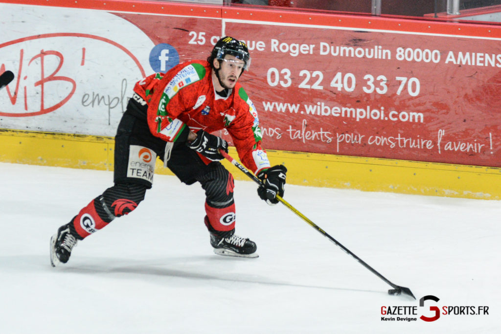Hockey Sur Glace Gothiques Vs Anglet Kevin Devigne 14