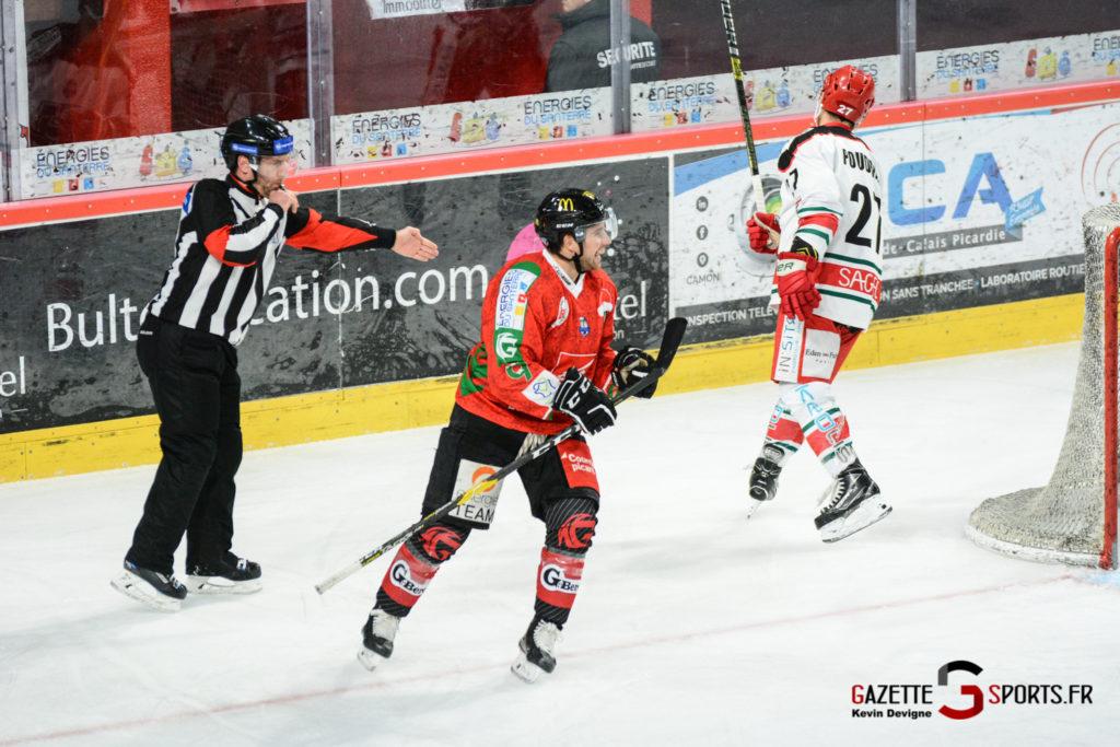 Hockey Sur Glace Gothiques Vs Anglet Kevin Devigne 19
