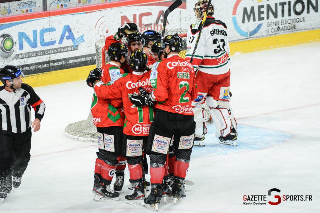 Hockey Sur Glace Gothiques Vs Anglet Kevin Devigne 21