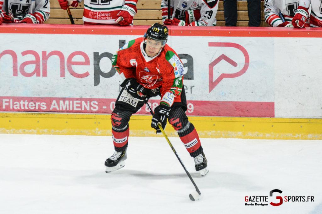 Hockey Sur Glace Gothiques Vs Anglet Kevin Devigne 22