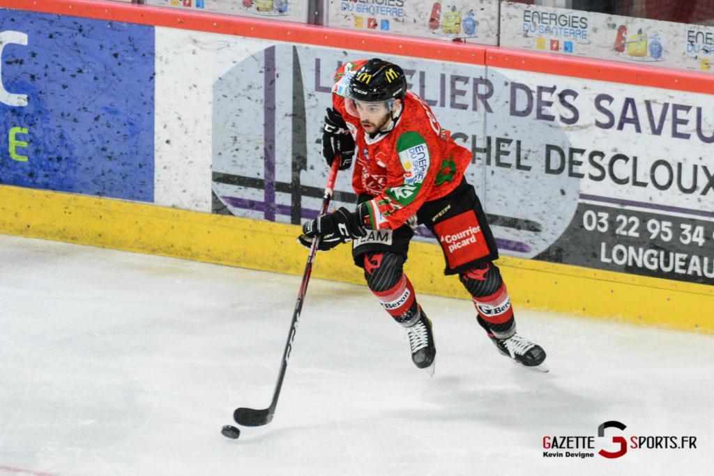 Hockey Sur Glace Gothiques Vs Anglet Kevin Devigne 23