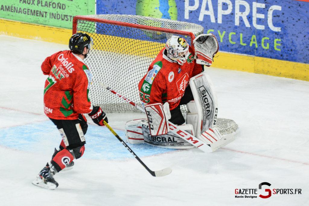 Hockey Sur Glace Gothiques Vs Anglet Kevin Devigne 24
