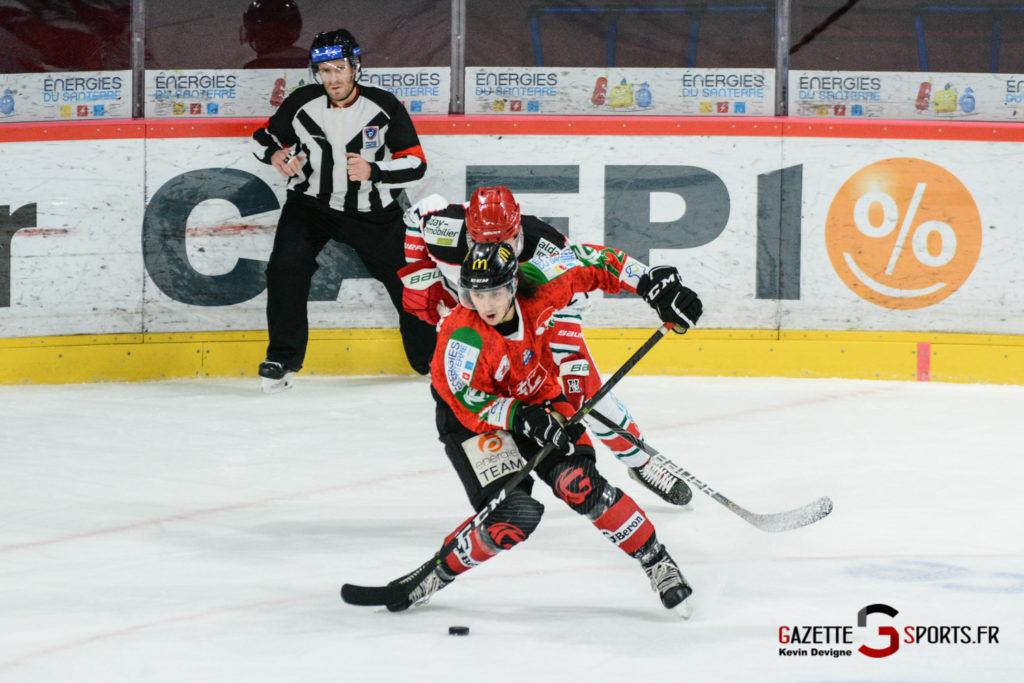 Hockey Sur Glace Gothiques Vs Anglet Kevin Devigne 32