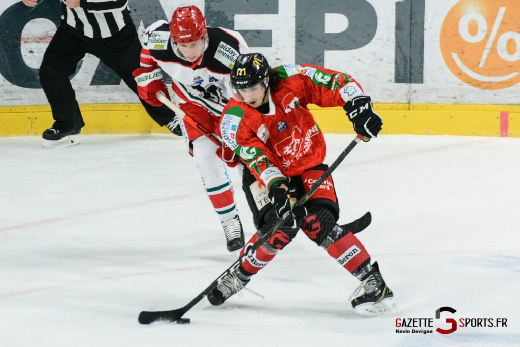 Hockey Sur Glace Gothiques Vs Anglet Kevin Devigne 33