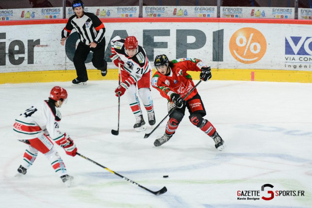 Hockey Sur Glace Gothiques Vs Anglet Kevin Devigne 34