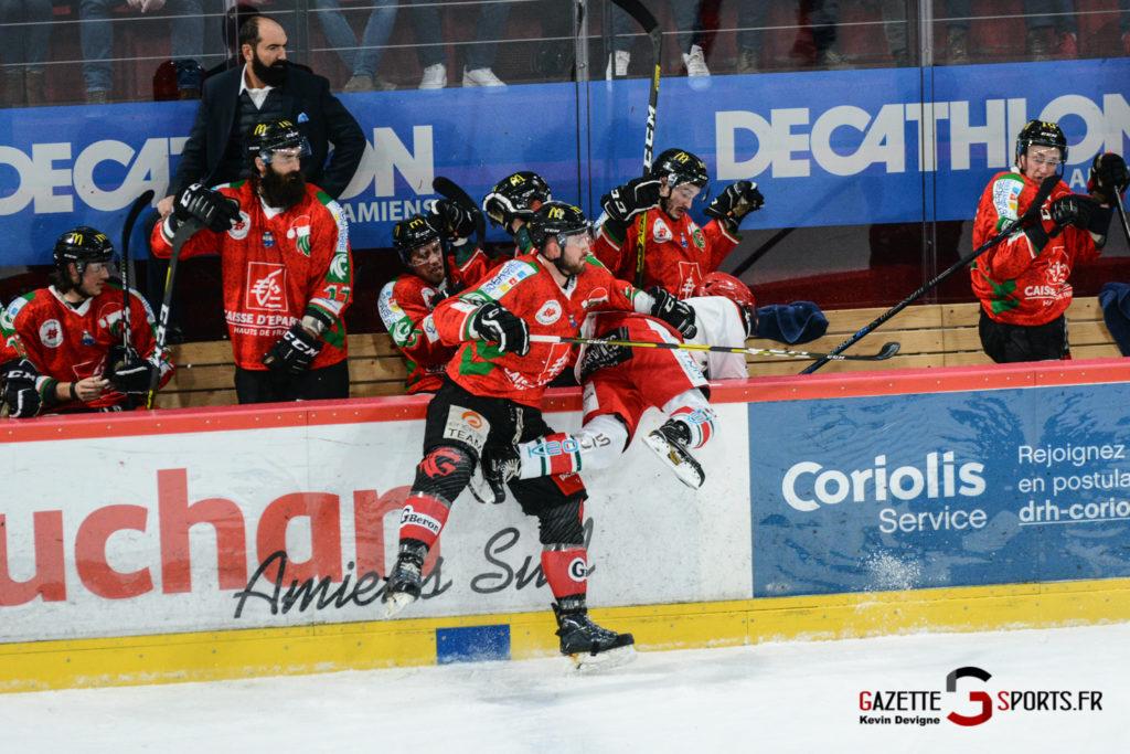 Hockey Sur Glace Gothiques Vs Anglet Kevin Devigne 37