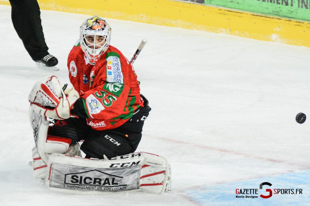 Hockey Sur Glace Gothiques Vs Anglet Kevin Devigne 40
