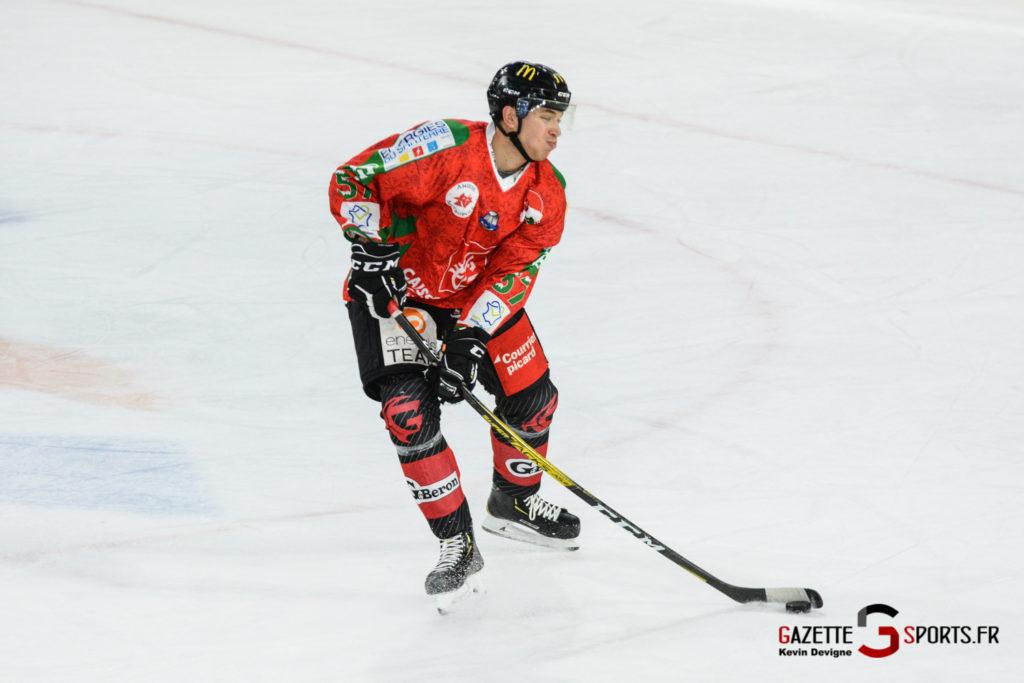 Hockey Sur Glace Gothiques Vs Anglet Kevin Devigne 42
