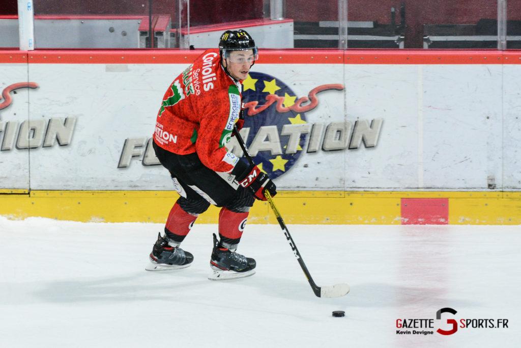 Hockey Sur Glace Gothiques Vs Anglet Kevin Devigne 45