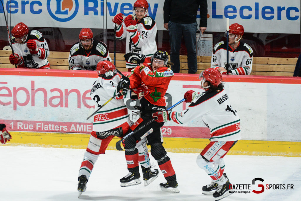 Hockey Sur Glace Gothiques Vs Anglet Kevin Devigne 46
