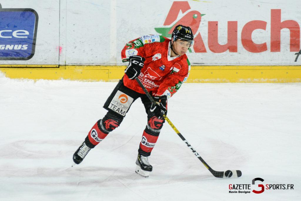 Hockey Sur Glace Gothiques Vs Anglet Kevin Devigne 47