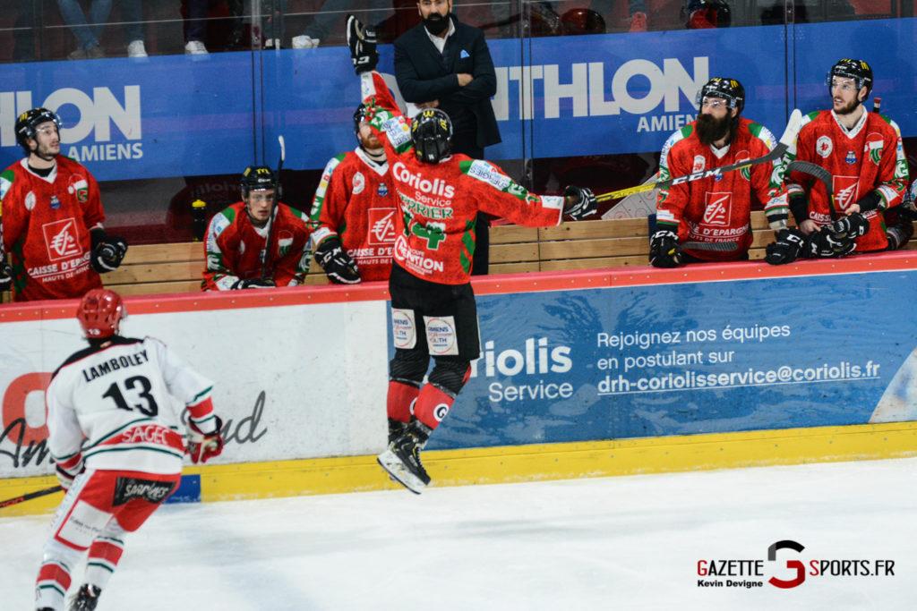 Hockey Sur Glace Gothiques Vs Anglet Kevin Devigne 54
