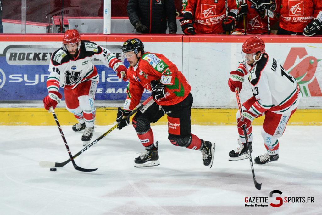 Hockey Sur Glace Gothiques Vs Anglet Kevin Devigne 55