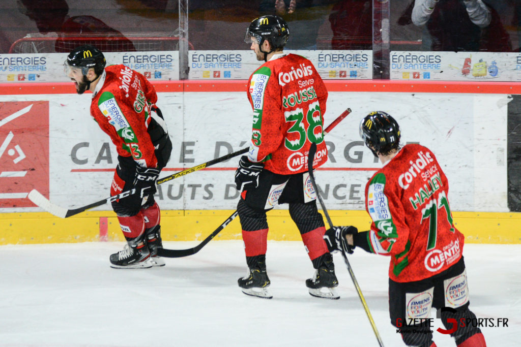 Hockey Sur Glace Gothiques Vs Anglet Kevin Devigne 58