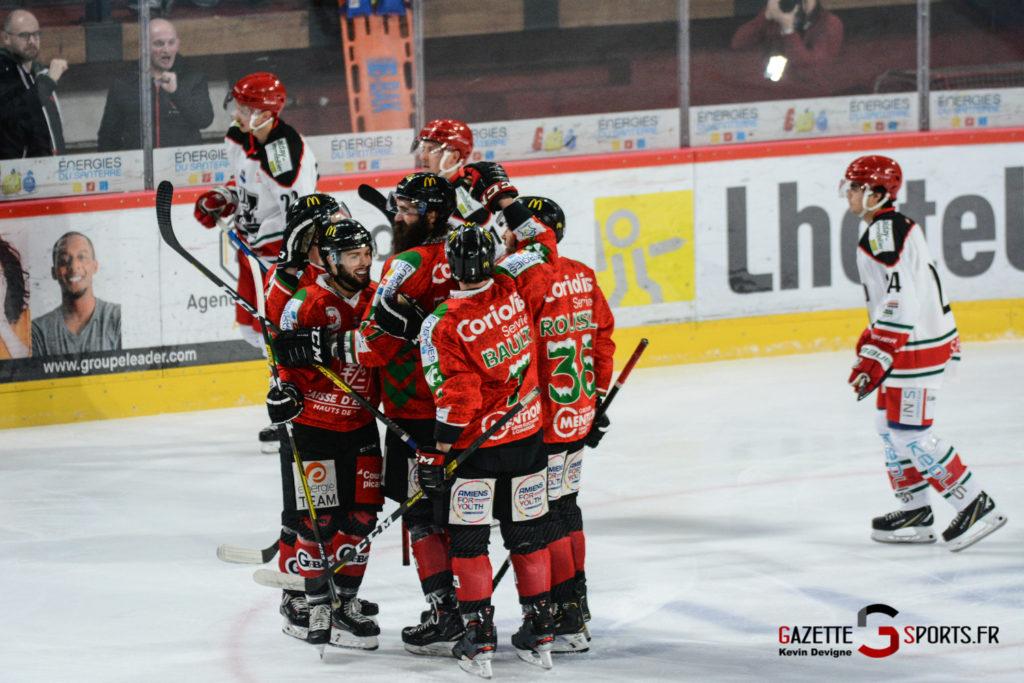 Hockey Sur Glace Gothiques Vs Anglet Kevin Devigne 59