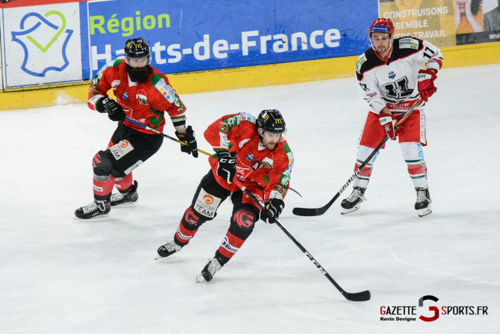 Hockey Sur Glace Gothiques Vs Anglet Kevin Devigne 60