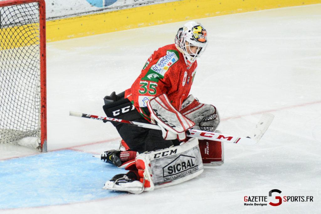 Hockey Sur Glace Gothiques Vs Anglet Kevin Devigne 61