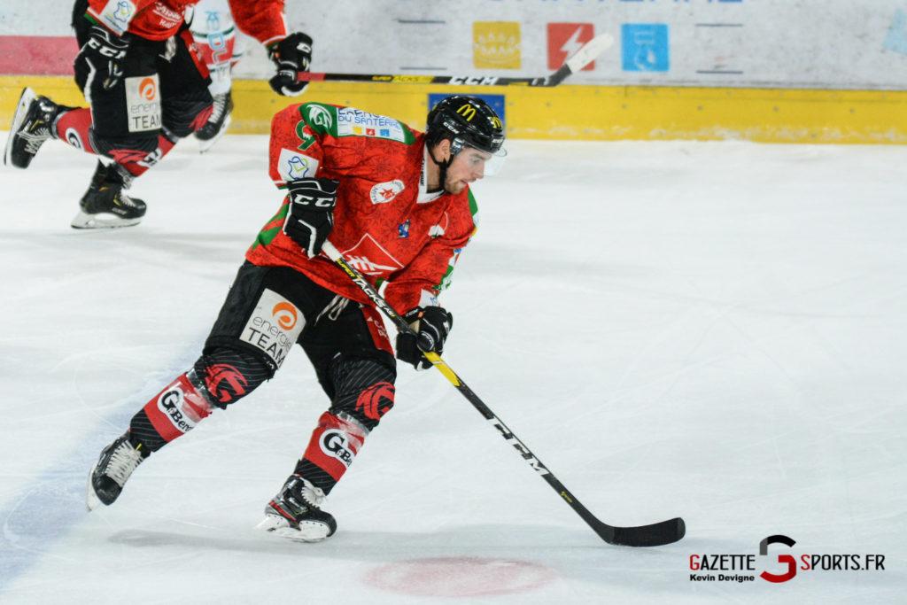 Hockey Sur Glace Gothiques Vs Anglet Kevin Devigne 65