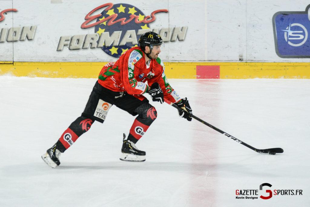 Hockey Sur Glace Gothiques Vs Anglet Kevin Devigne 66