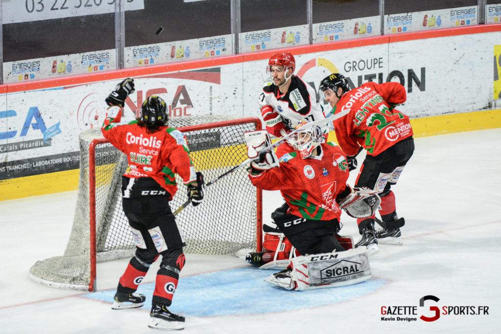 Hockey Sur Glace Gothiques Vs Anglet Kevin Devigne 68