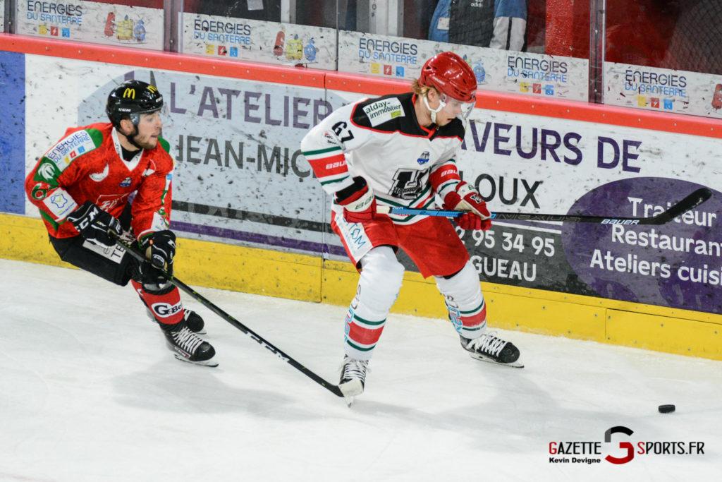 Hockey Sur Glace Gothiques Vs Anglet Kevin Devigne 69