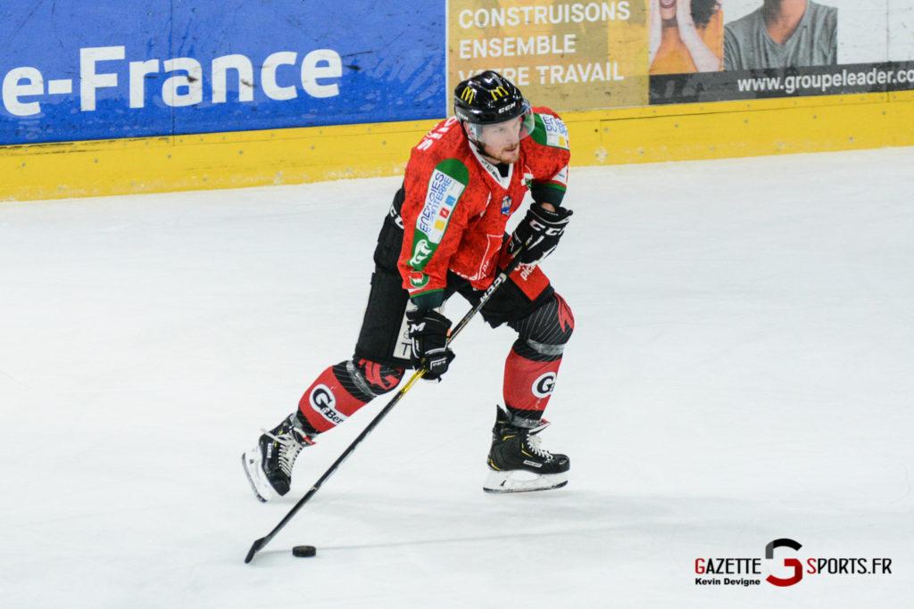 Hockey Sur Glace Gothiques Vs Anglet Kevin Devigne 73