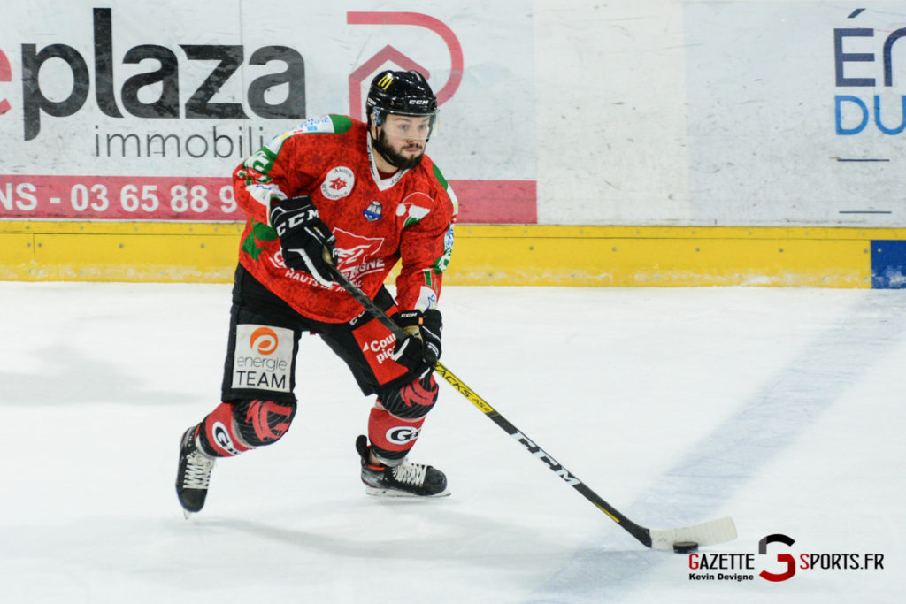 Hockey Sur Glace Gothiques Vs Anglet Kevin Devigne 74